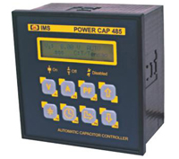 POWER CAP 485 - Command Automatic About To Seats Of Capacitors On The Average Tension